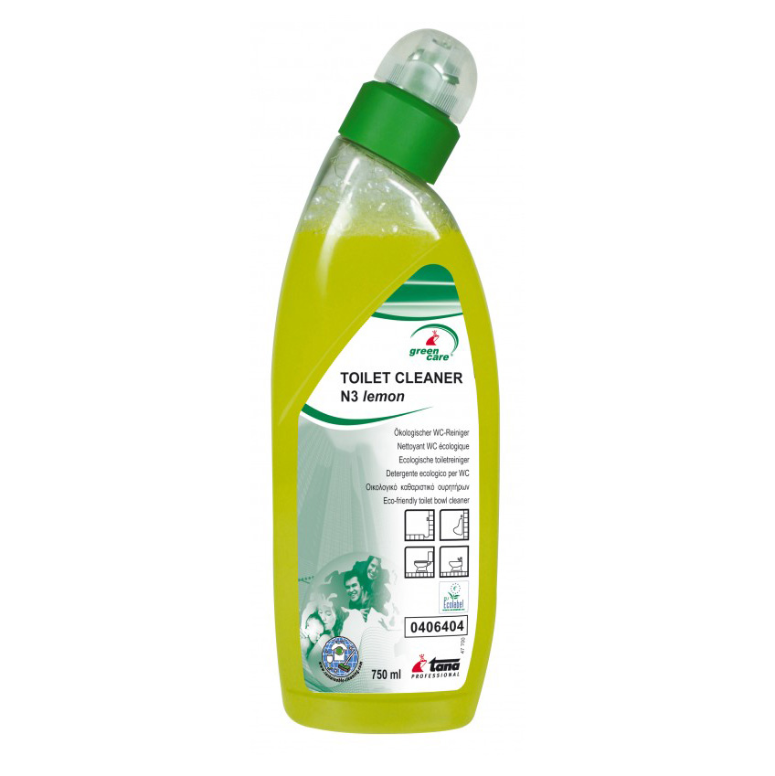 Tana toilet cleaner n 3 lemon 750ml green care clean factory almere for Wc ontwikkeling